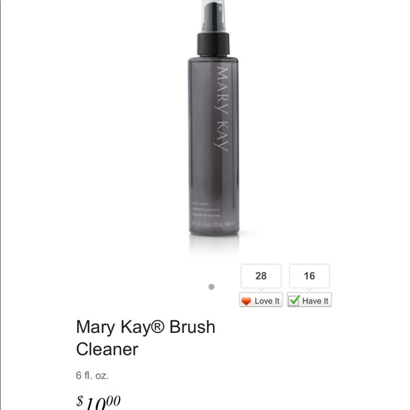 Mary Kay Other - Mary Kay Brush Cleaner